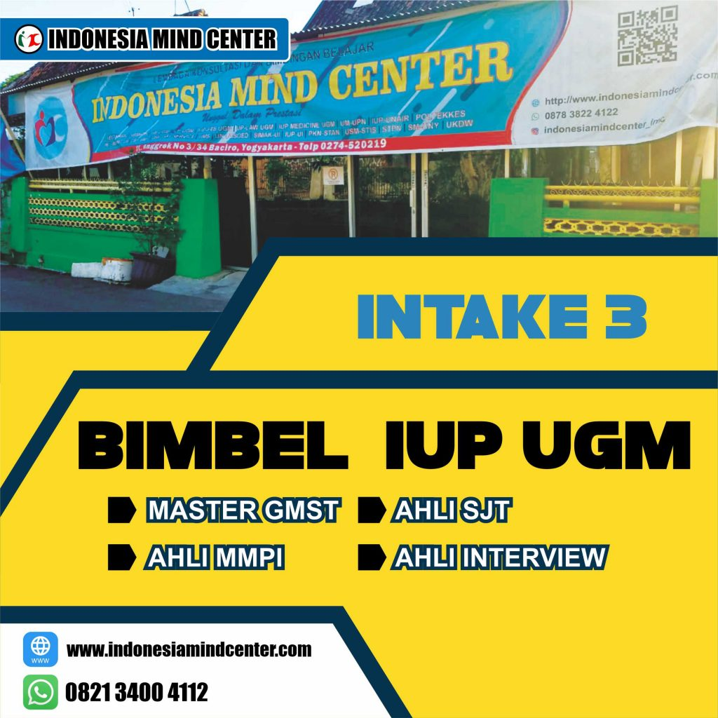 BIMBEL IUP UGM